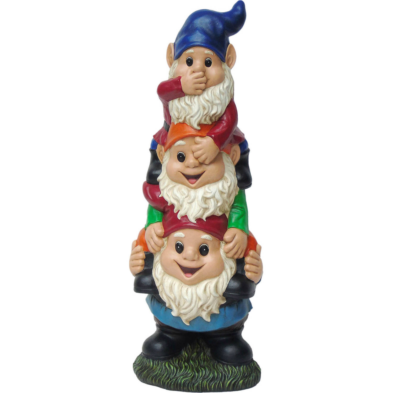 Stacked Gnomes, Multi-Color
