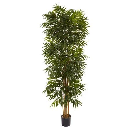 Nearly Natural 8 ft. Phoenix Silk Palm Tree Paradise Silk Palm Tree