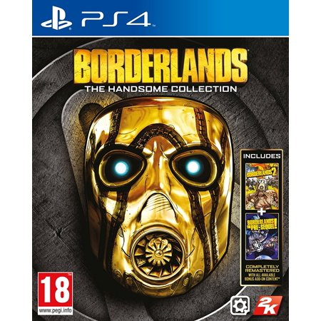 Borderlands: The Handsome Collection - Playstation 4, Two critically acclaimed Borderlands games in one package – experience Handsome Jack's rise.., By 2K