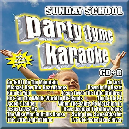 Party Tyme Karaoke: Sunday School (Various Artists)
