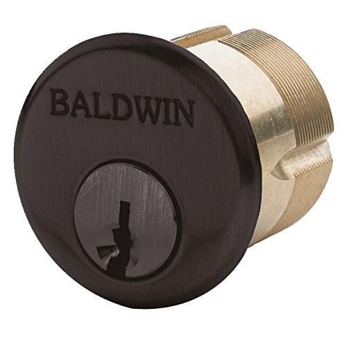 """Baldwin 8325 1-1/2"""" Mortise Cylinder C Keyway, Venetian Bronze"""