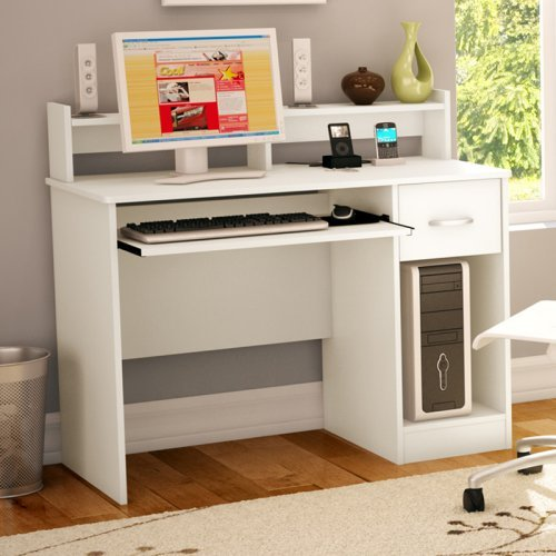 South Shore Axess Collection Work Desk Pure White