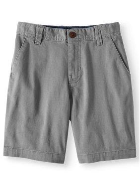 Wonder Nation Boys 4-18 School Uniform Flat Front Shorts