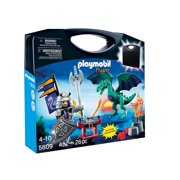 Playmobil Dragon and Knight Carrying Case Playset