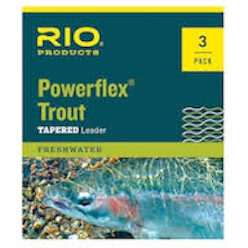 Rio Powerflex 9-ft. Leader 3-Pack