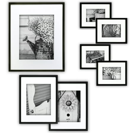 Pinnacle Gallery Perfect 7-Piece Frame Kit ()