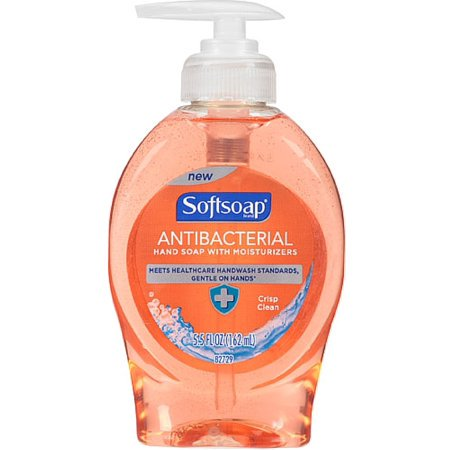 (Pack of 3) Softsoap Antibacterial Hand Soap with Moisturizers, Crisp Clean, 5.5 Oz - Softsoap Halloween Hand Soap