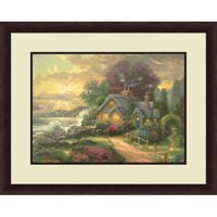 Thomas Kinkade,A new Day Dawning, 20x16 Decorative Wall Art