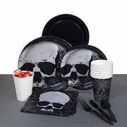 Halloween Skull Terror Party Pack for 8