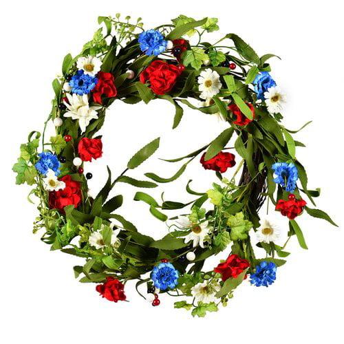 August Grove Artificial Mixed 22'' Wreath