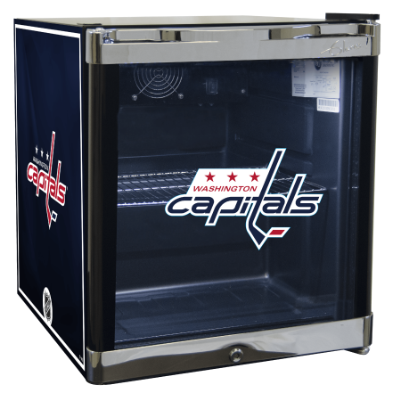 NHL Refrigerated Beverage Center 1.8 cu ft Washington Capitals by
