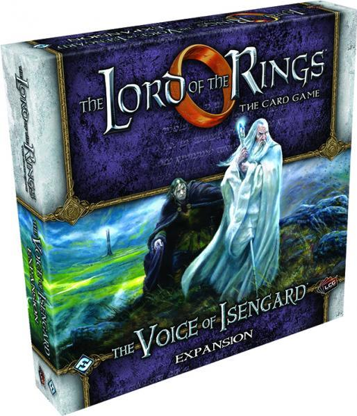 Lord of the Rings: The Card Game The Voice of Isengard Deluxe Expansion by Asmodee North America