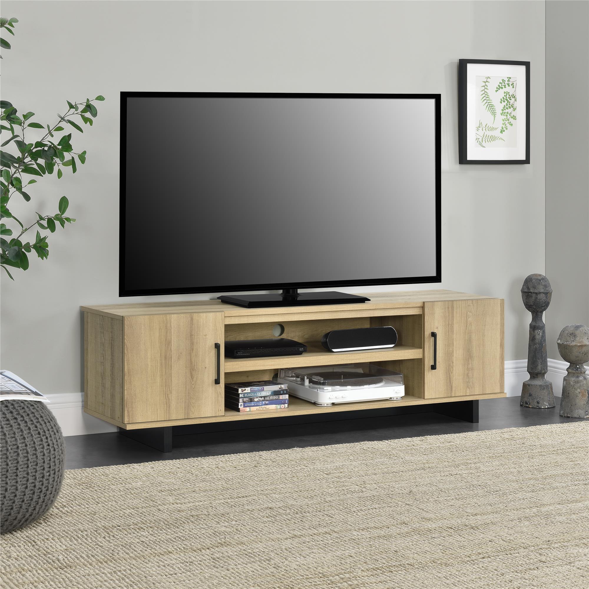 """Southlander TV Stand for TVs up to 65"""", Golden Oak"""