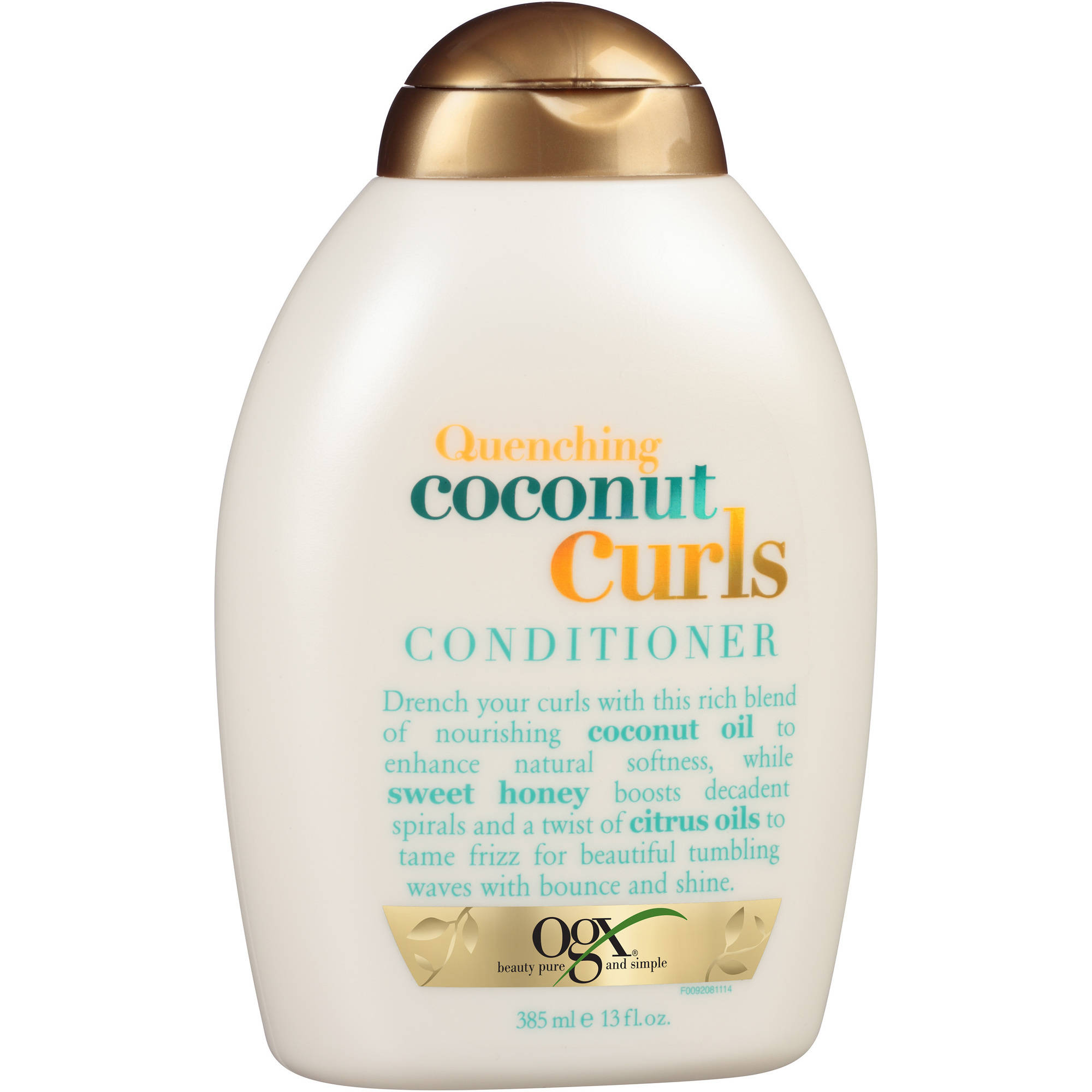OGX Quenching Coconut Curls Conditioner, 13 fl oz