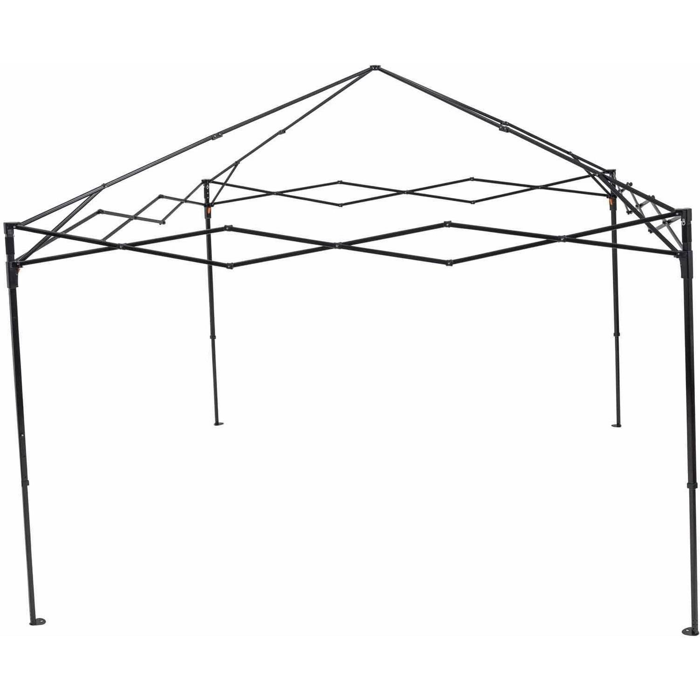 trueshade plus 10 x 10 portable pop up canopy khaki walmart 4 Person Canvas Tent