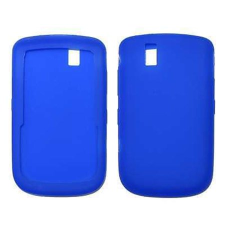 - Blue Soft Silicone Gel Skin Cover Case for Blackberry Tour 9630 / Bold 9650