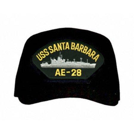 USS Santa Barbara AE-28 Ships Ball - Santa Caps