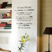 Belvedere Designs LLC In This Home Modern Wall Quotes  Decal