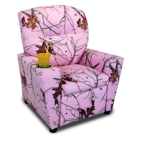Mossy Mossy Oak Pink Kid Recliner Cupholder Product Image