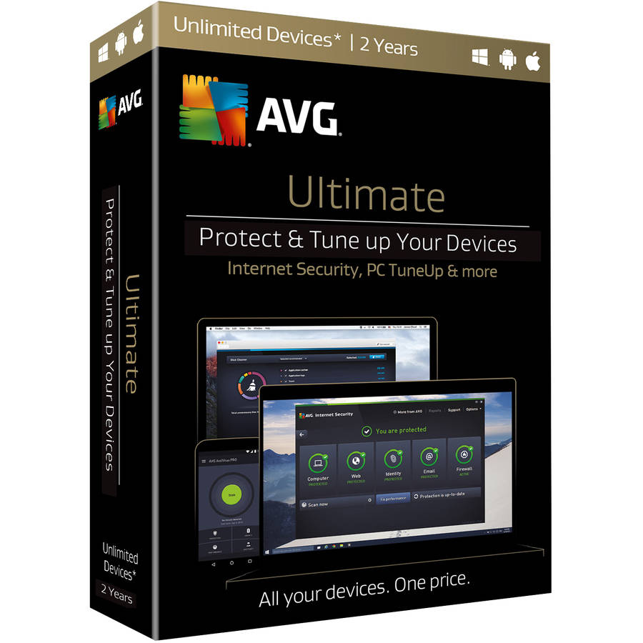 AVG Ultimate Bundle, 2 Years