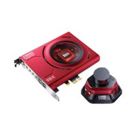 Creative Sound Blaster Zx - Sound card - 24-bit - 192 kHz - 116 dB SNR - 5.1 -