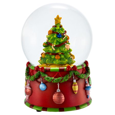 Kurt Adler 100MM Musical Christmas Tree Water Globe
