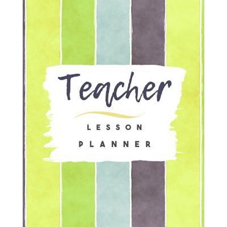 Halloween Lesson Plans High School English (Teacher Lesson Planner: Undated Weekly Academic Plan Book For School Teachers)