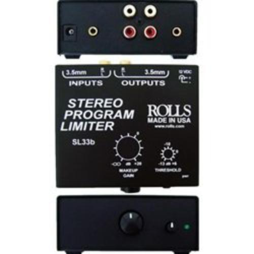 Rolls SL33B Stereo Program Limiter by Rolls