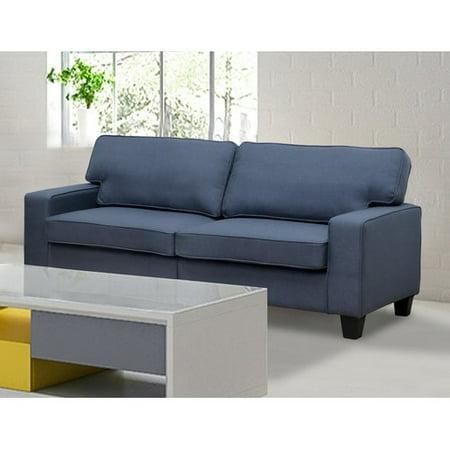 Living In Style Jordan Linen Modern Living Room Sofa - Walmart.com