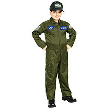 Air Force Pilot Child Halloween Costume](Bomber Pilot Costume)
