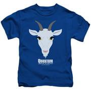 Quantum And Woody Goat Head Little Boys Shirt