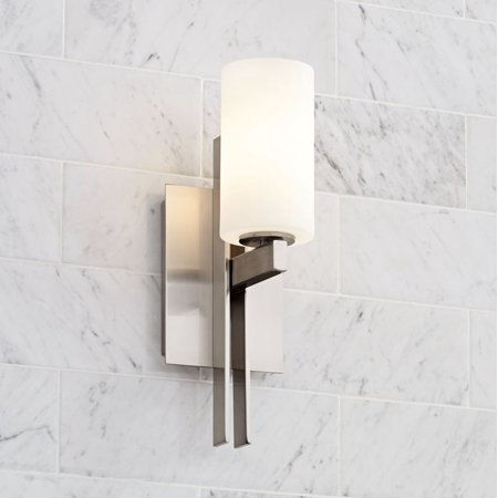 Possini Euro Design Possini Euro Ludlow 14 High Brushed Nickel Wall