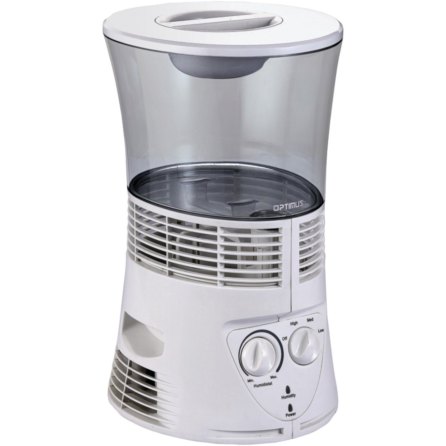 Humidifier, Optimus U-33100 Cool Mist Vaporizer Room Quiet Wick Humidifier