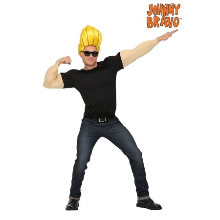 Johnny Bravo Plus Size Costume for - Costums For Men