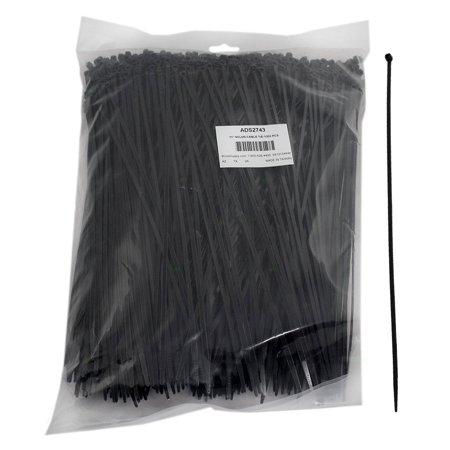 1000 Pc Bag Black Nylon 11