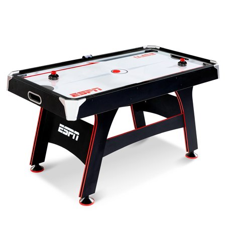 ESPN 5 FT. AIR POWERED HOCKEY TABLE WITH LED ELECTRONIC SCORER (Folding Air Hockey Table)
