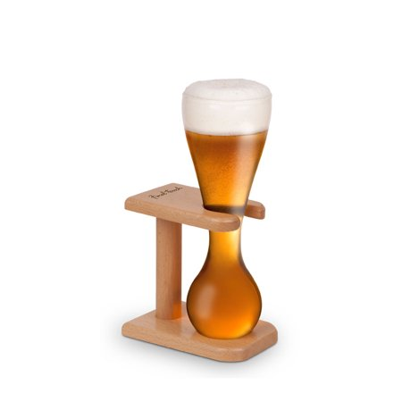 (Quarter Yard of Ale Beer Glass with Stand - 13.5 oz)