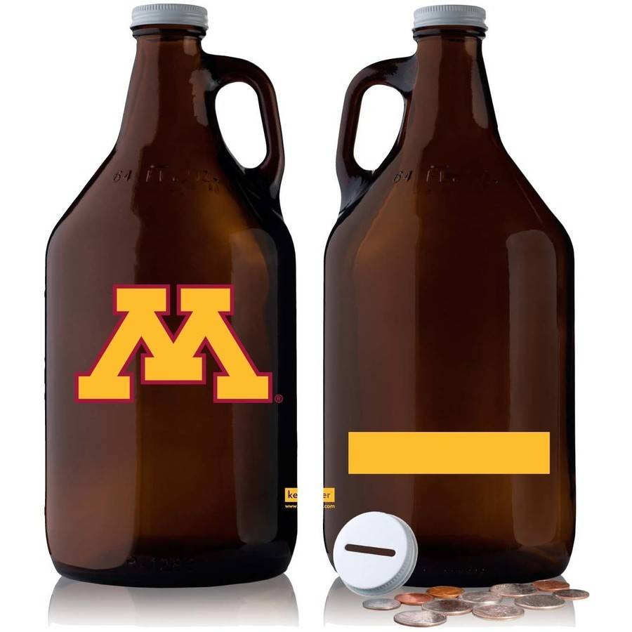 NCAA Minnesota Golden Gophers 64 oz Amber Jug