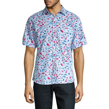 Pesca Fiesta Camp Shirt Mens Cord Camp Shirt