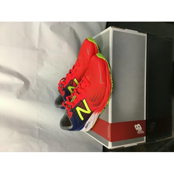 New Balance Men's M1400V4 Running Shoe, Red/Blue, 8 D US