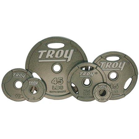 Troy Enamel Finish Interlocking Grip Plates -  45 lb ()