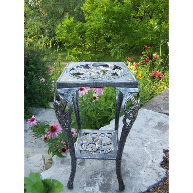 Oakland Living Corporation 5161-AP Hummingbird Table Plant Stand