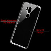 For LG G7 ThinQ Case, OneToughShield ® Scratch-Resistant TPU Slim-Fit  Protector Phone Case (Black Bezel) - Vintage Radio