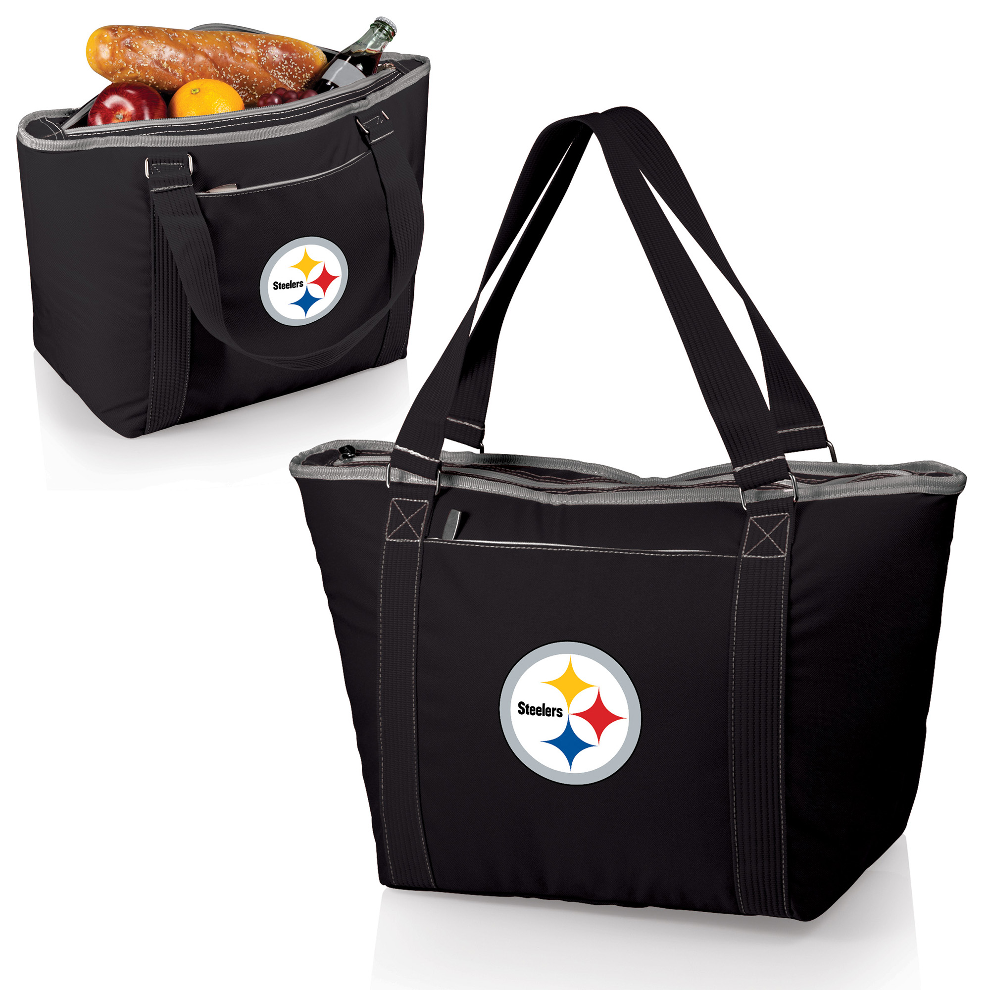 Pittsburgh Steelers Topanga Cooler Tote - Black - No Size
