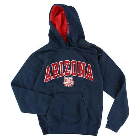 Old Varsity Mens Arizona Wildcats Pullover Hoodie Navy Blue