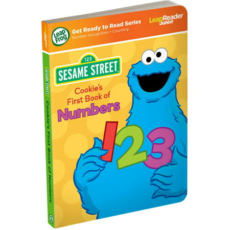 LeapFrog LeapReader Junior Book: Sesame Street Cookie Monster's First Book of Numbers (works with Tag (Funtastic Frogs Numbers)