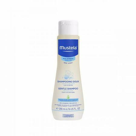 - Mustela Gentle Shampoo, Tear-free Natural Baby Shampoo, 6.7 Oz.