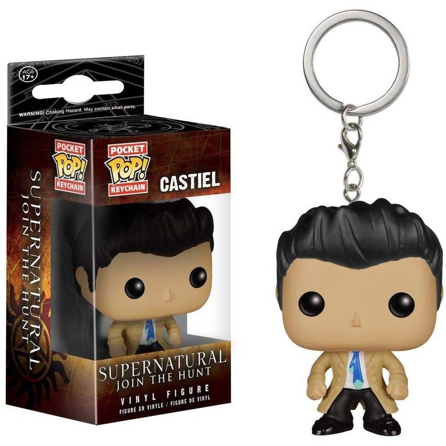 Funko Pocket Pop! Keychain Supernatural Castiel