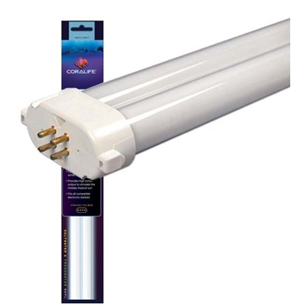 Coralife 96W 10K Square Pin Compact Fluorescent Lamp ()