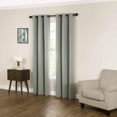 Sunham Home Fashions - Eclipse Derby Fashion Blackout Window Curtain
